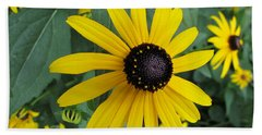 Pop Yellow Beach Towel