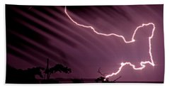 Popa Island Lightning Beach Sheet