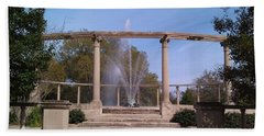 Popp Fountain New Orleans City Park Beach Sheet