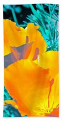 Beach Towel featuring the photograph Poppy 4 by Pamela Cooper