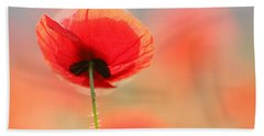 Poppy Dream Beach Towel