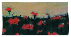 Poppy Field Beach Sheet
