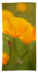 Beach Towel featuring the photograph Poppy II by Ronda Kimbrow