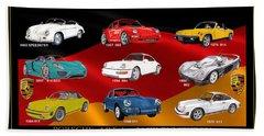 Porsche Times Nine Beach Towel