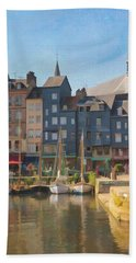 Port D'honfleur Beach Towel