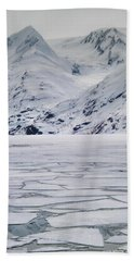 Portage Lake Beach Towel