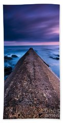 Porthleven Sunset Beach Towel