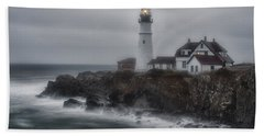 Portland Head Nor'easter Beach Towel