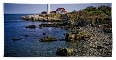 Portland Headlight 37 Oil Beach Towel