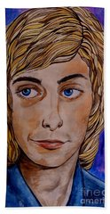 Portrait Of Barry 2 Beach Towel