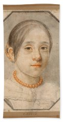 Portrait Of The Artist's Daughter Beach Towel
