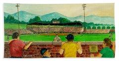 Portsmouth Athletics Vs Muncie Reds 1948 Beach Sheet
