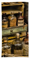 Potions And Cure Alls Beach Towel by Heather Applegate