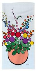 Potted Blooms - Orange Beach Sheet