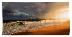 Beach Sheet featuring the photograph Power by Eti Reid