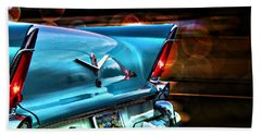 Old Cars Beach Towel featuring the photograph Powerflite by Aaron Berg