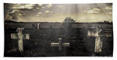 Prairie Graves Beach Sheet by Jean OKeeffe Macro Abundance Art