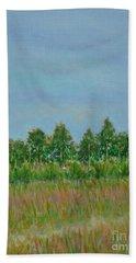 Prairie Morning Light Beach Towel