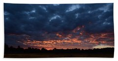 Prairie Sunrise Beach Towel