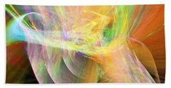 Beach Sheet featuring the digital art Praise by Margie Chapman
