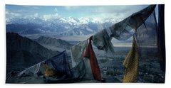 Prayer Flags Leh Ladakh Beach Towel