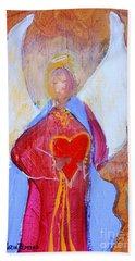 Precious Heart Angel Beach Sheet
