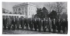 President Coolidge White House Beach Towel