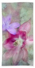 Pretty Flowers Beach Towel