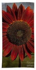 Primitive Sunflower 2 Beach Sheet