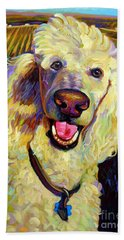 Princely Poodle Beach Sheet