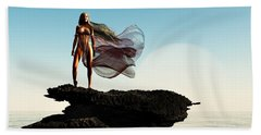 Princess Of Mars... Beach Towel by Tim Fillingim