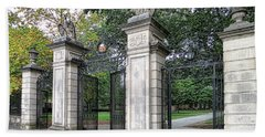 Princeton University Main Gate Beach Towel