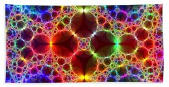 Prism Bubbles Beach Towel