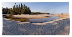 Beach Towel featuring the photograph Prisoners Cove   by Doug Gibbons