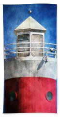Private Lighthouse Beach Towel