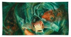 Prosperity Koi Beach Sheet