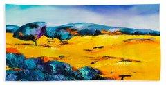 Provence Colors Beach Towel