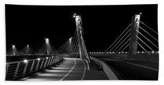 Ptuj Bridge Bw Beach Sheet