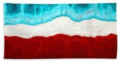 Pueblo Cemetery Original Painting Beach Towel
