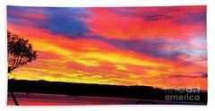 Puget Sound Colors Beach Towel