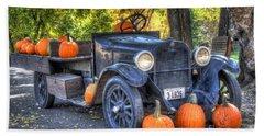 Pumpkin Hoopie Beach Sheet