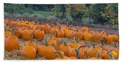 Pumpkin Parade Beach Sheet