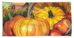 Pumpkin Pickin Beach Sheet