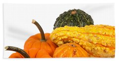 Pumpkins And Gourds Beach Sheet