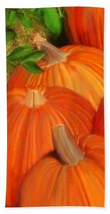 Pumpkins Pumpkins Everywhere Beach Towel