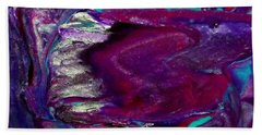 Purple Craze Beach Towel