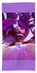 Purple Diva Beach Towel by Brooks Garten Hauschild