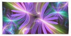 Purple Dream Beach Sheet