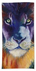 Purple Majesty Beach Towel