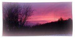 Purple Majesty Beach Towel